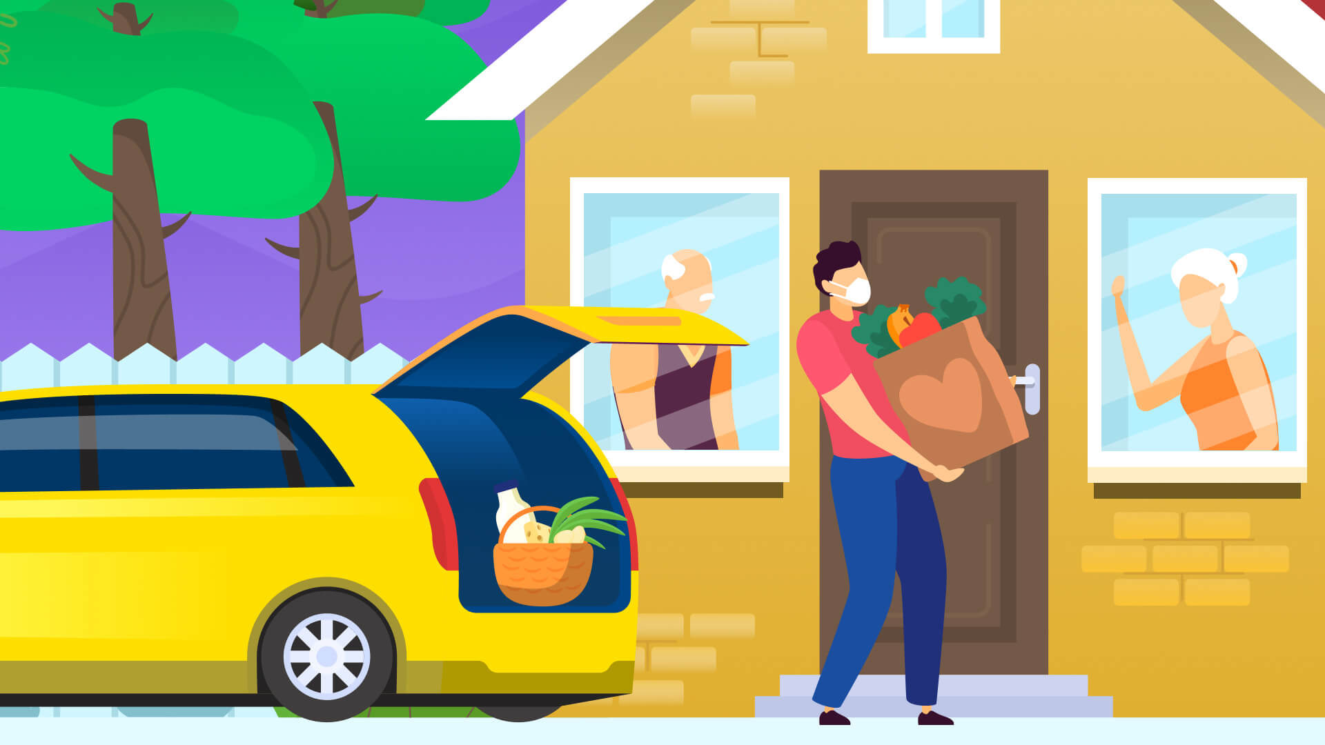 customer delivery app