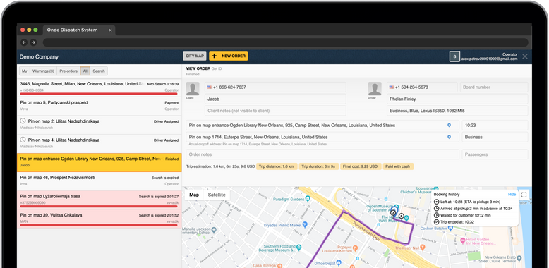 See all the orders in one place and manage them effectively.
